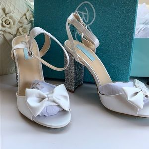"NWB Blue by Betsey Johnson ""Lyla"" Heels"